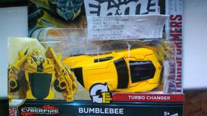 Transformer one step changer cyber fire £3.99 & B&M