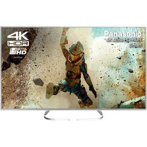 "Panasonic TX-50EX700B 50"" 4K HDR TV - Silver ( 6 Payments of £83​  0 % APR ) £499 @ AO.com"