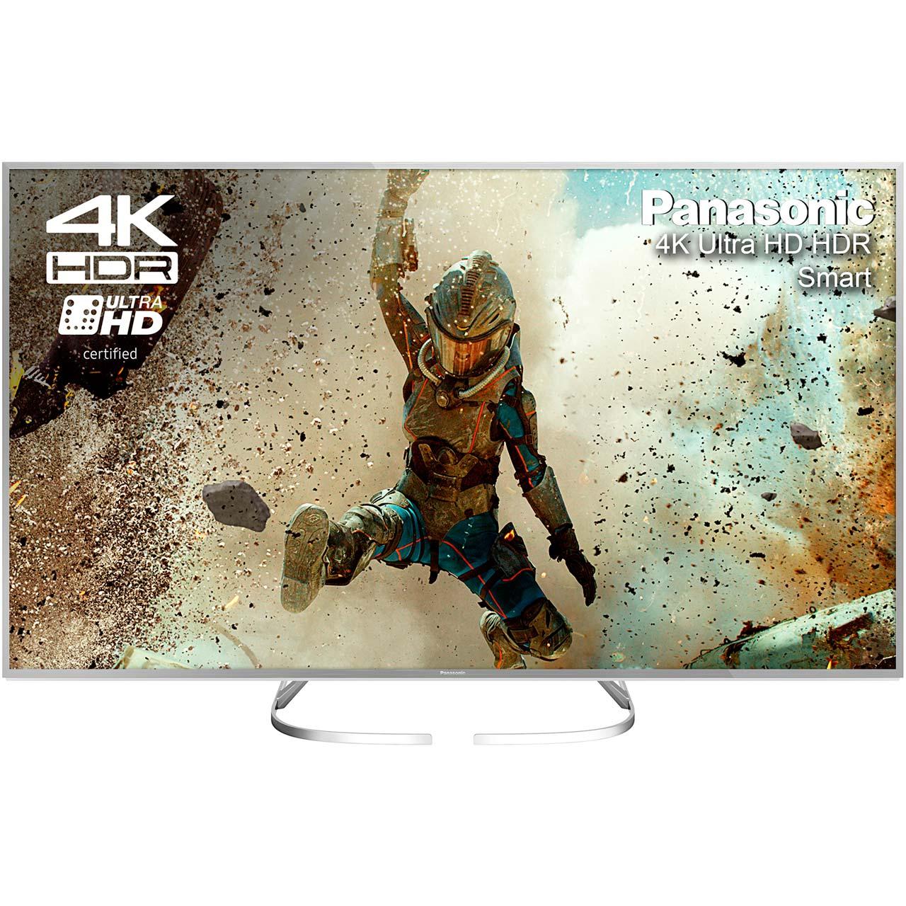 "Panasonic TX-50EX700B 50"" 4K HDR TV - Silver ( 6 Payments of £83  0 % APR ) £499 @ AO.com"
