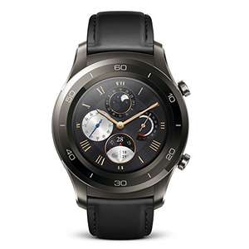Huawei Watch 2 Classic Smartwatch - Titanium Grey  £259 Lightning Deal @ Amazon