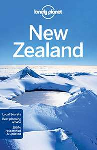Lonely planet New Zealand travel guide 09 Sept 2016 £5.09 plus £2.99 for non prime delivery @ Amazon