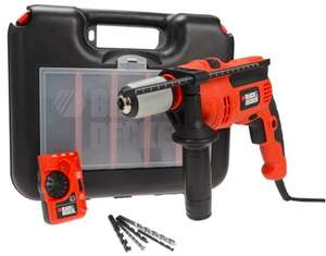 Black & Decker 710w Impact Hammer Drill With Free Stud Detector £37.99 Delivered @ FFX