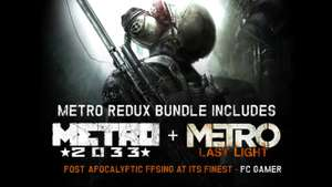 PC :- Metro Redux Bundle Includes Metro 2033 Redux & Metro Last Light Redux (Steam Key from Fanatical) Try the code for 8% off = £5.17