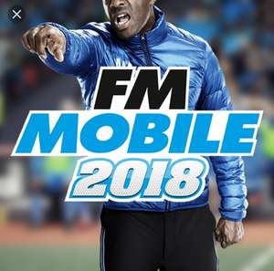 Football Manager 2018 reduced to £5.99 on App Store and Google play store. Was £8.99.