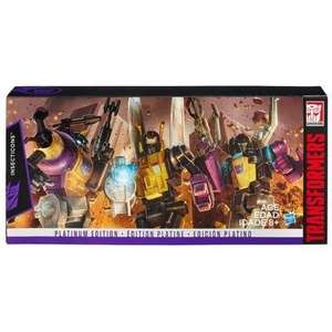 Transformers Platinum Insecticons £29.99 instead of £69.99 @ A1 Toys