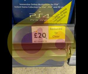 PSN Plus 12 Months membership £20 in store @ Tesco Chorley Buckshaw Superstore