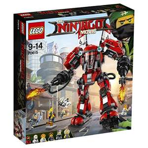 LEGO Ninjago Movie 70615 Fire Mech Toy £34.99 (RRP £59.99) Amazon Prime