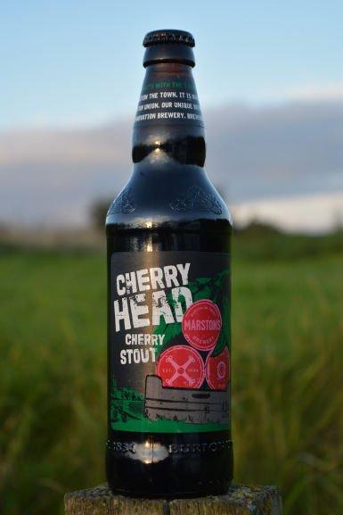 Cherry Head Cherry Stout (Marston's) 500ml / £1 /  Home Bargains