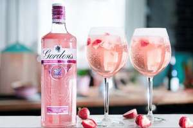 Free Gordon's Pink Gin Spritz - via Gordon's Facebook page
