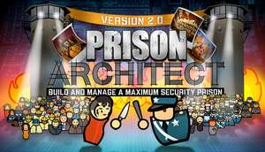 PC :-Prison Architect Normally £19.99 (GOG Russia £1.61) (GOG UK 75 % off £4.99 )Full English Audio + Text ** VPN required for Russia Ordering Only - Not needing during game play or updates £1.61 @ GOG  (Free VPN Trial :- https://free.nordvpn.com/)