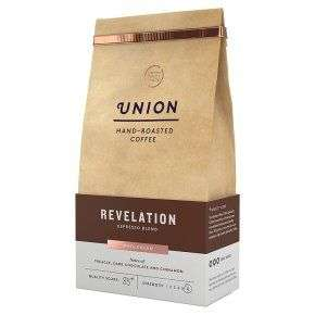 Union Hand-Roasted Coffee Revelation Blend Wholebean 200g £3.50 @ Waitrose