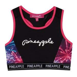 Pineapple girls fitness dance crop top 8-9 , 9-10 years, was £15 now £4.50 @ debenhams