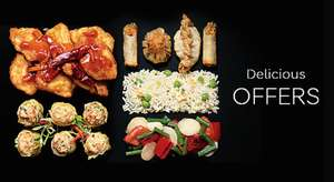 Chinese Takeaway for Two - Two Mains + Two sides (plus  a third side with Sparks) £10  @ M&S instore from 15th February