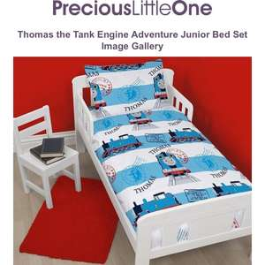 Thomas the Tank Junior Bed Set £7.95 + £3.95 delivery at  PreciousLittleOne