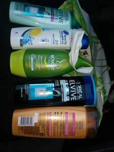 Asda shampoo clearance from 50p instore Blackpool wellbeck