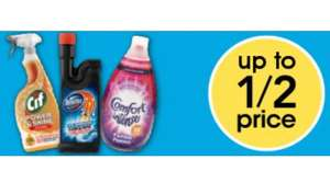 Wilko big cleaning event - Many cleaning products up to half price off