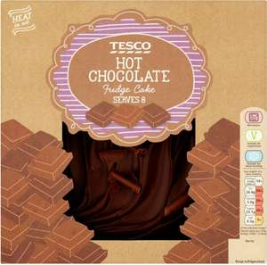 Tesco Hot Chocolate Fudge Cake (700g) - £2.75 @ Tesco