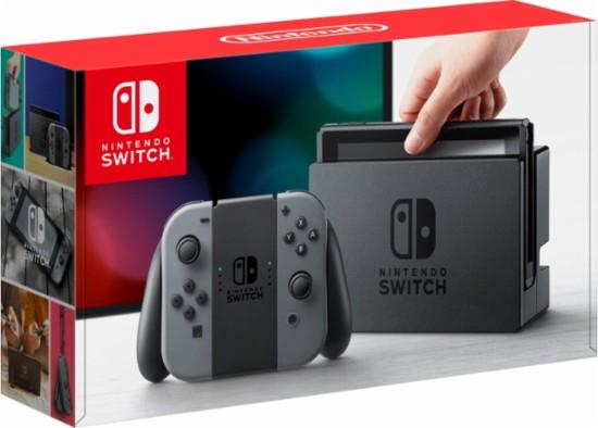 Nintendo Switch 32GB Grey £240 @ CeX