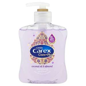 Carex Care+Plus Enriching Hand Wash 250ml - £1 at Asda