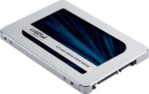 New Low for MX500 SSD  250gb Now £62.54 @ Ebuyer