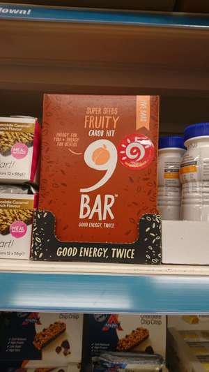9bar super seeds fruity carob hit 5pack £1 @ poundland