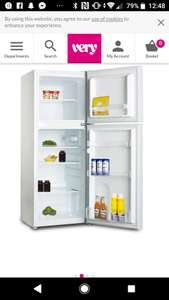 SwanSER5330W 48cm Wide Freezer Over Fridge - White £129.99 at Very