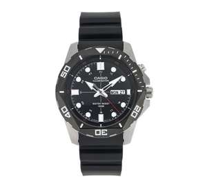 Casio Diver Style Backlight Black Resin Strap Watch just £28.99 @ Argos