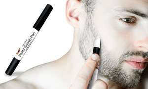 Beard growth pen - £4.97 delivered @ Groupon