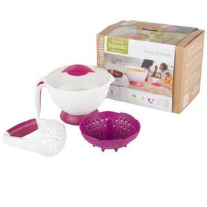 Infantino Fresh Squeezed Steam & Smush Baby Food Steamer Masher Maker £5.48 delivered @ Brooklyn Trading