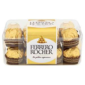 Ferrero Rocher 16-Piece Assortment (Pack of 5, Total 80 pieces) - £14.80 Prime / £19.55 non Prime @ Amazon