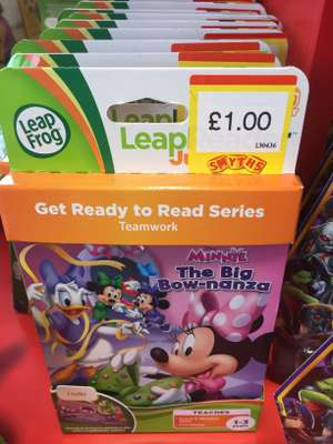 LeapFrog Disney Minnie Mouse The Big Bow-Nanza £1 @ Smyths Birstall