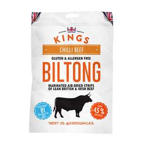 Kings Biltong 30g - 2 for £2 in Lidl
