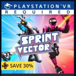 Sprint vector £13.99 @ PSN (with Ps+ / £19.99 without)