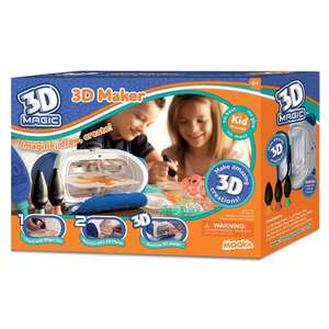 3D Magic Maker £10 delivered (prime) £14.75 (non prime) @ Amazon