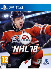 NHL 18 - PS4 & XBox1 £23.85 @ SimplyGames