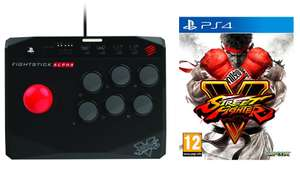 [PS4] Street Fighter V + Mad Catz SFV Arcade FightStick Alpha - £33.99 - Go2Games