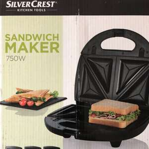 Sandwich maker, waffle maker and grill £16.99 @ Lidl -  West Bromwich