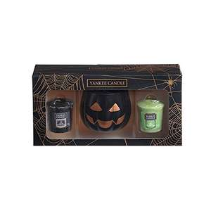Yankee Candle Votive, Cardboard and Wax, Black, Halloween Gift Set £6.99 prime / £10.97 non prime  Amazon