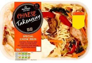 Ready Meals Chinese Mains for £1.50 from February 15 @ Morrisons