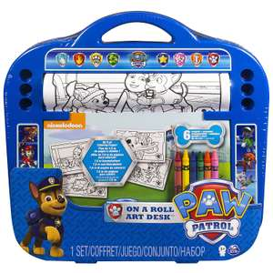 Paw Patrol On a Roll Art Desk £2.99 @ Home Bargains