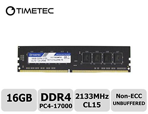 Timetec Hynix IC 16GB DDR4 2133MHz PC4-17000 Unbuffered Non-ECC RAM £128.93 @ Amazon