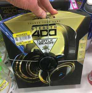 Turtle beach stealth 400 wireless headset £25 instore @ Tesco