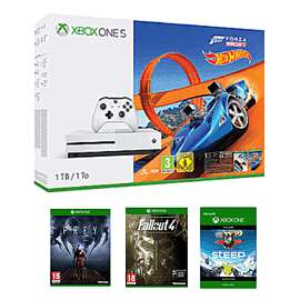 Xbox one s 1tb Forza horizon 3 + hot wheels dlc + 5 other games £229.99 @ Game