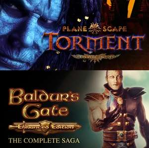 Planescape: Torment: Enhanced Edition £4.68 / Baldur's Gate: The Complete Saga £11.03 w/code @ Fanatical