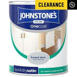 Johnstone's Paint on clearance from £4.49 @ Argos