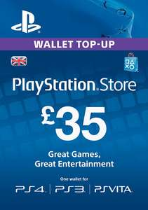 £35 psn top up for £17.50 Tesco brooklands