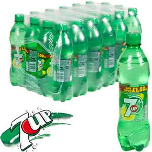 Home Bargains - 7UP (24 x 500ml Bottles) only for £11.76 ,original RRP is 24, cheapest than poundland, tesco, asda