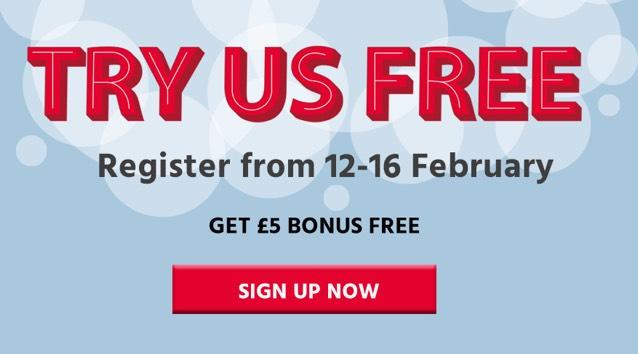 £5 free with Loteri Cymru