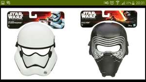 Star Wars: The Force Awakens Mask Assortment £2.49 down from £11.99 @ Argos