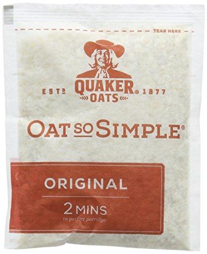 Quaker Oatso Simple Original Porridge, 27 g (Pack of 120) £10.91 Prime / £15.66 Non Prime @ Amazon